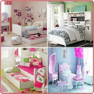 Nápady na dívky v ložnicích - náhled