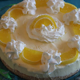 Lemon Mousse Cake.