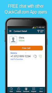 QuickCall.com Free Calling App screenshot 4