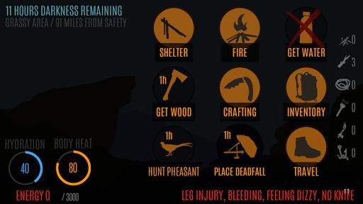 Survive - Wilderness survival  screenshots 2