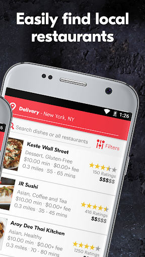 Grubhub Food Delivery/Takeout Screenshot