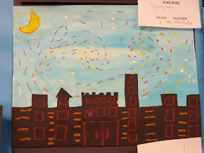 Photo: Starry Night By Grade 1 and 2