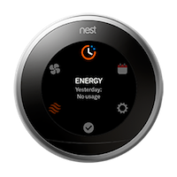 Nest thermostat quick view energy