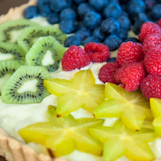Fresh Fruit Tart (Gluten-free and Dairy-Free).