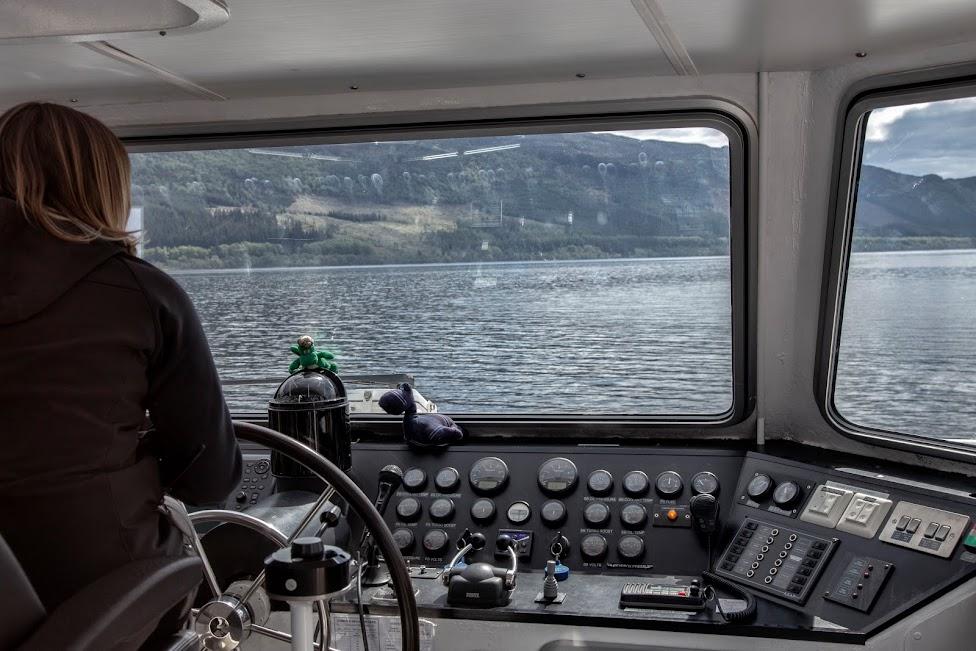 rejs, statek, Loch Ness, Jacobite