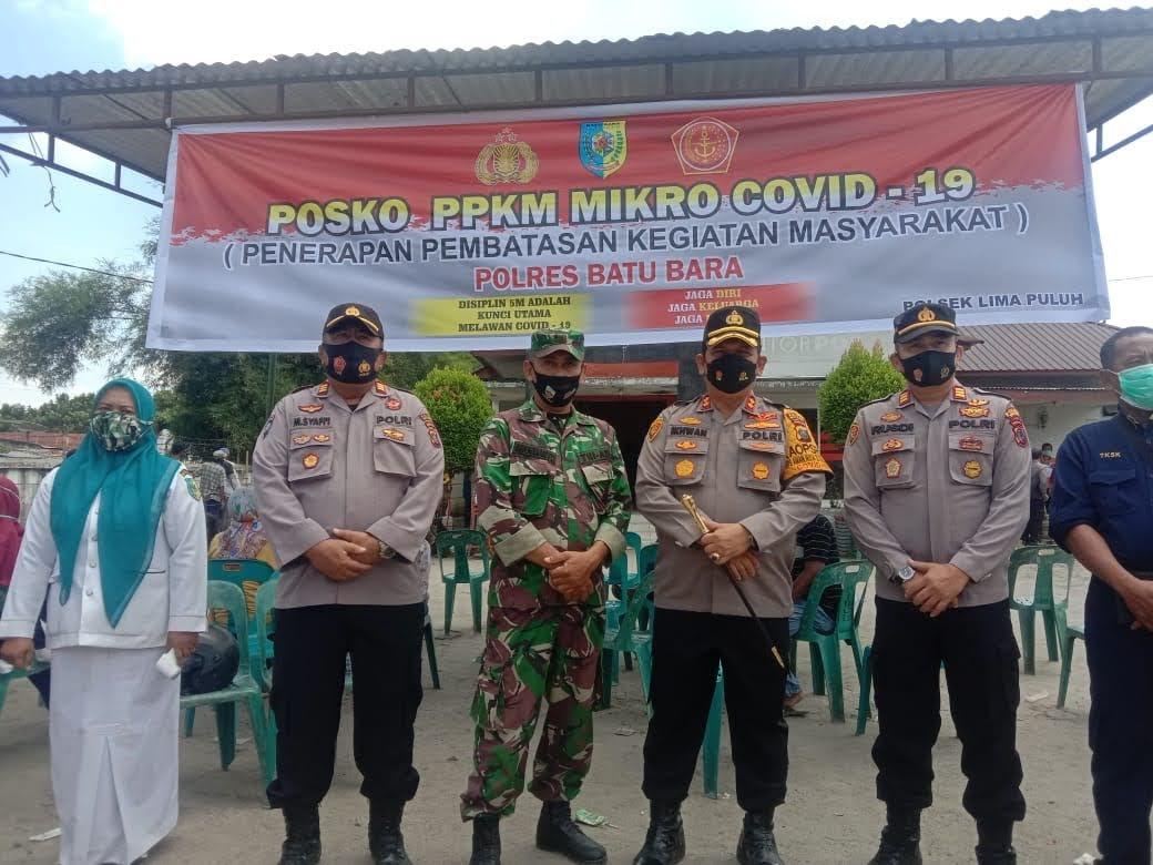 PPKM Bersekala Mikro di Kabupaten Batu Bara