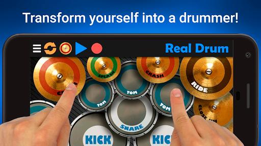 Real Drum - The Best Drum Sim 8.12 screenshots 1
