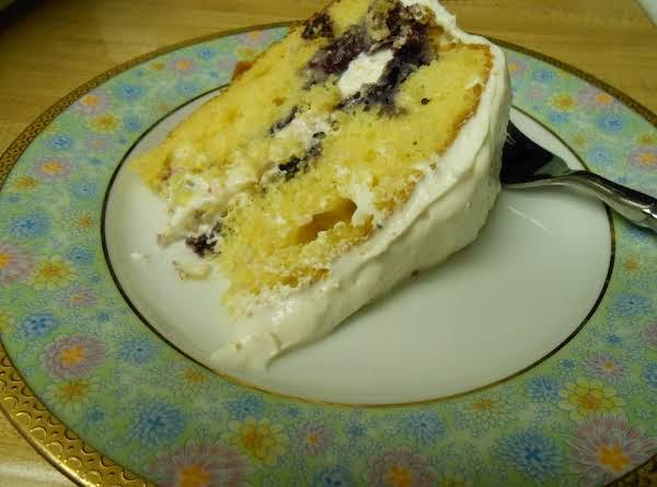 Blueberry Citrus Cake Recipe
