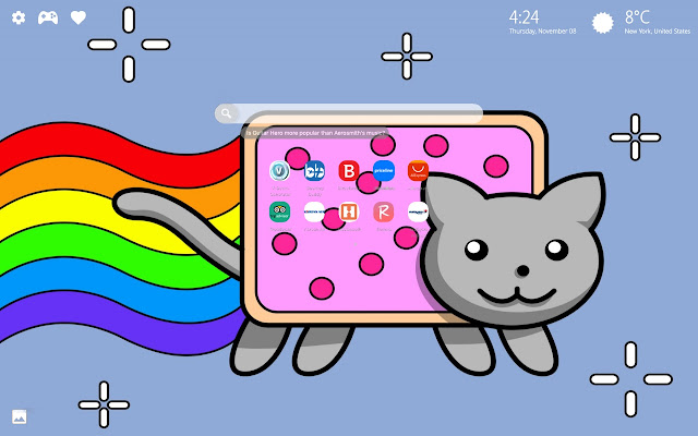 Nyan Cat Wallpapers New Tab Theme