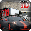 Racing Cars Transporter Truck icon