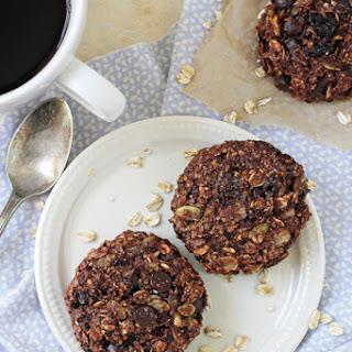 Chocolate Cherry Almond Breakfast Cookies.