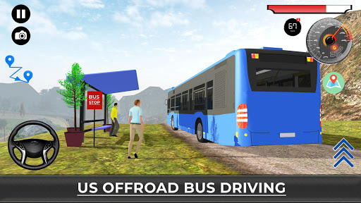 US Offroad Bus Driving Simulator 2018 1.0.1 screenshots 7