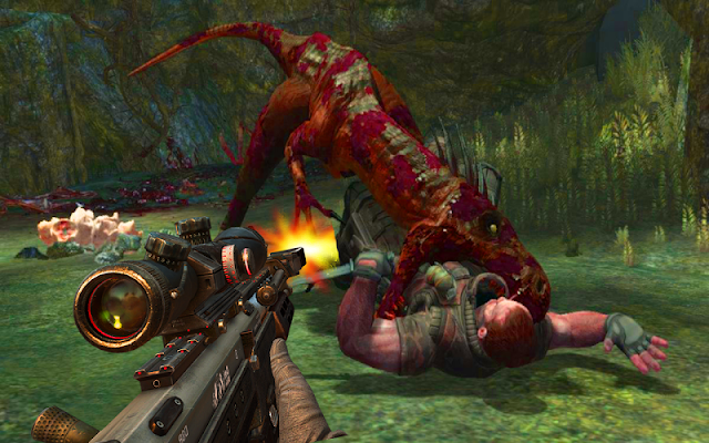 Hunt Jurassic Dino - Sniper 3D - screenshot