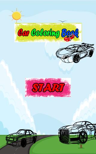 Car Colouring Book
