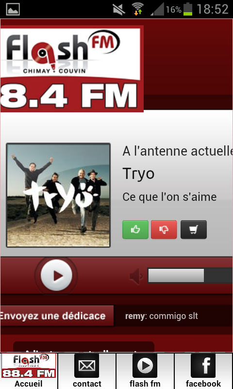 FLASH FM COUVIN- screenshot