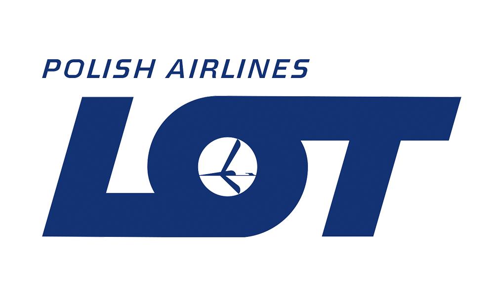 Logo polskich linii lotniczych LOT