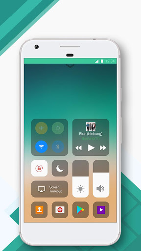 Control Center--IOS 11(iPhone X & Android Panel) for PC