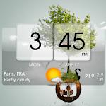 3D Flip Clock Theme Pack 02 icon