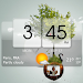 3D Flip Clock Theme Pack 02 icon