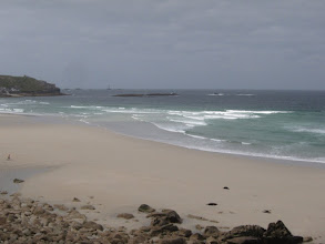 Photo: Sennen Cove is Cornwall's capital ...
