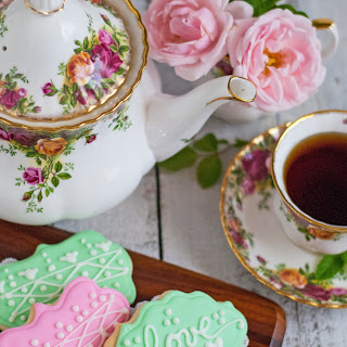Soft Tea Sugar Cookies