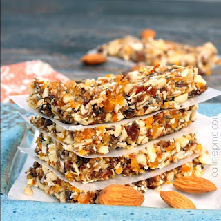 Apricot Almond Energy Bars.