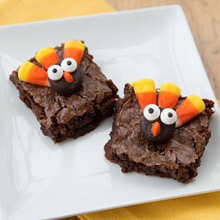 The Cutest Thanksgiving Brownies You've Ever Seen