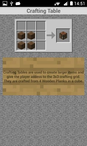 android Crafting Recipes Screenshot 5