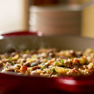 Easy Beans and Rice with Sausage