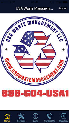 Screenshot for USA Waste Management in United States Play Store