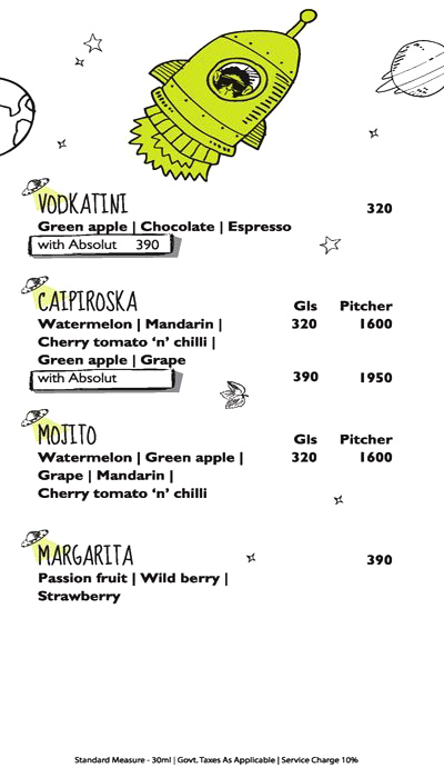 Monkey Bar menu 11