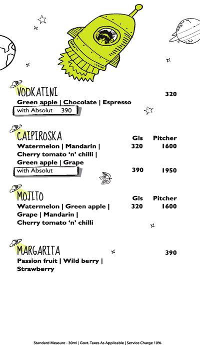 Monkey Bar menu 11