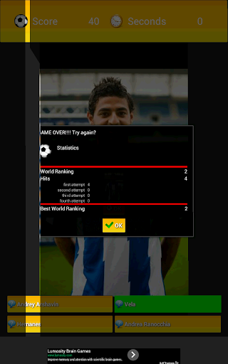 Soccer Players Quiz 2017 PRO 1.12 screenshots 15
