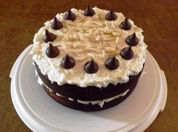 Reverse Almond Joy Cake