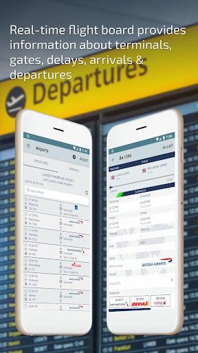 Flight Status u2013 Live Departure and Arrival Tracker 2.0.1 screenshots 2
