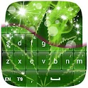 Keyboard Marijuanna Theme icon