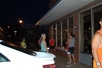 Photo: Runners are starting to gather.
