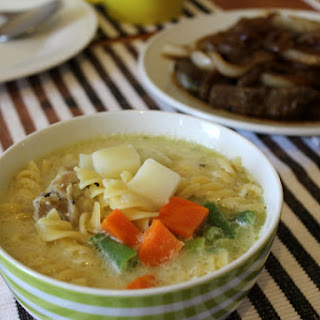 Chicken Soup Recipe with Fresh Vegetables.
