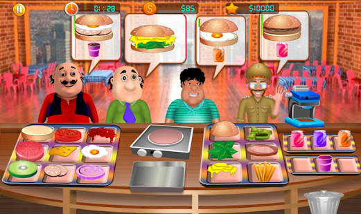 Motu Patlu Cooking Screenshot