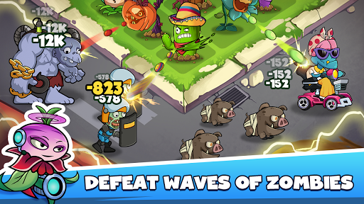 Merge Plants: Zombie Defense apkpoly screenshots 8