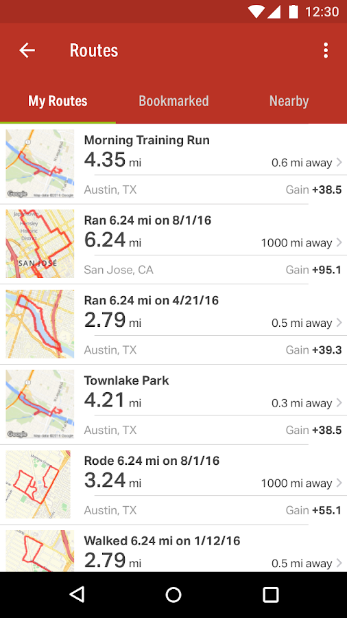 Map My Ride GPS Cycling Riding Android Apps on Google Play