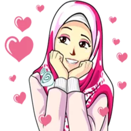 Hijab Sticker For Whatsapp Wastickerapps Apps On Google Play