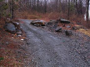 Entrance to Concrete City access trail