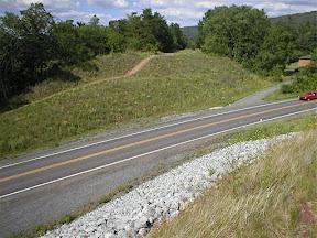 Abandoned turnpike Route 30 bridge