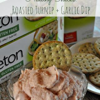 Roasted Turnip and Garlic Dip