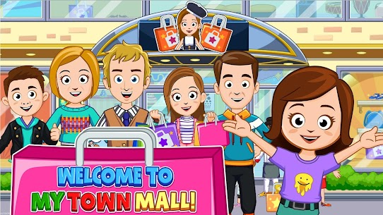 My Town : Shopping Mall MOD APK 1.00 [Characters Unlocked] 1