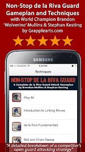 Non-Stop BJJ de la Riva Guard - náhled