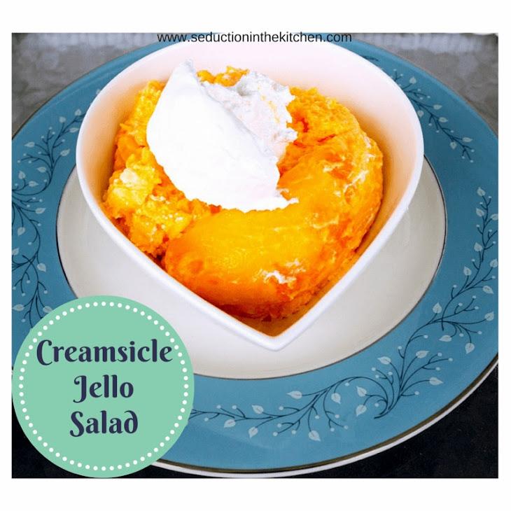 Creamsicle Jello Salad Recipe