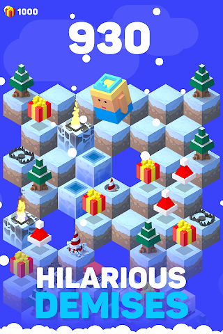android Ice Hill: Endless Xmas Fun Screenshot 8
