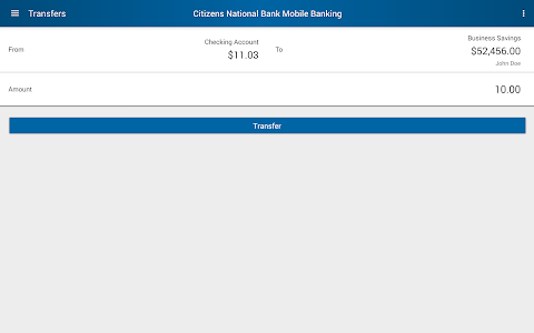Citizens National Bank Mobile screenshot 12